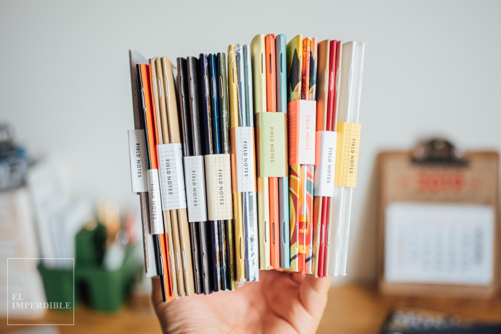 Seis ideas para darle uso a un cuaderno en blanco