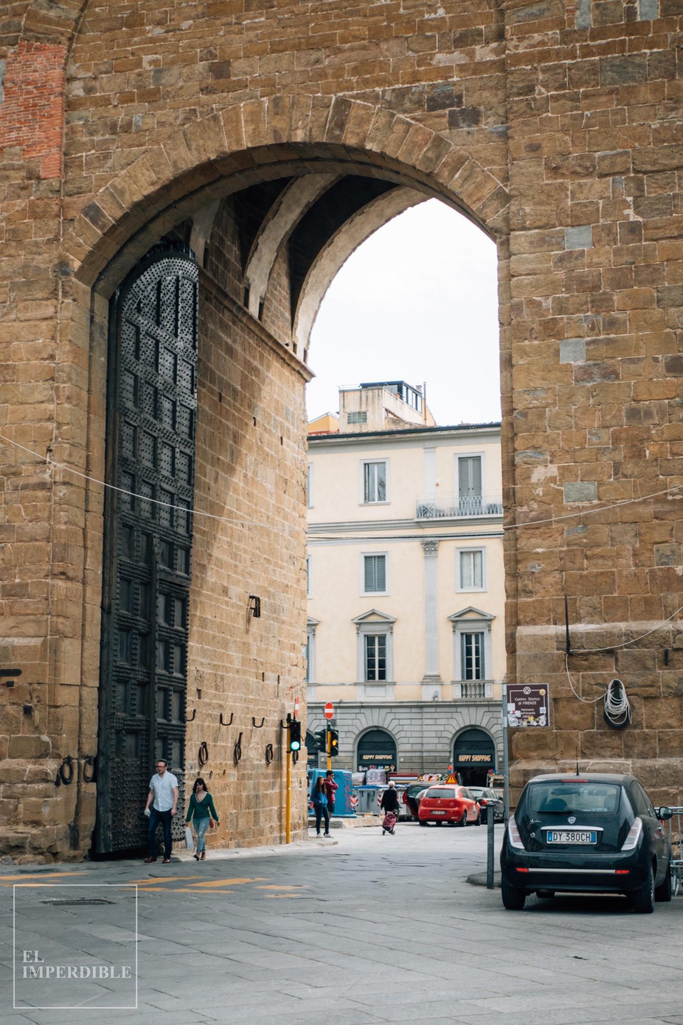 Lugares que ver en Florencia Muralla