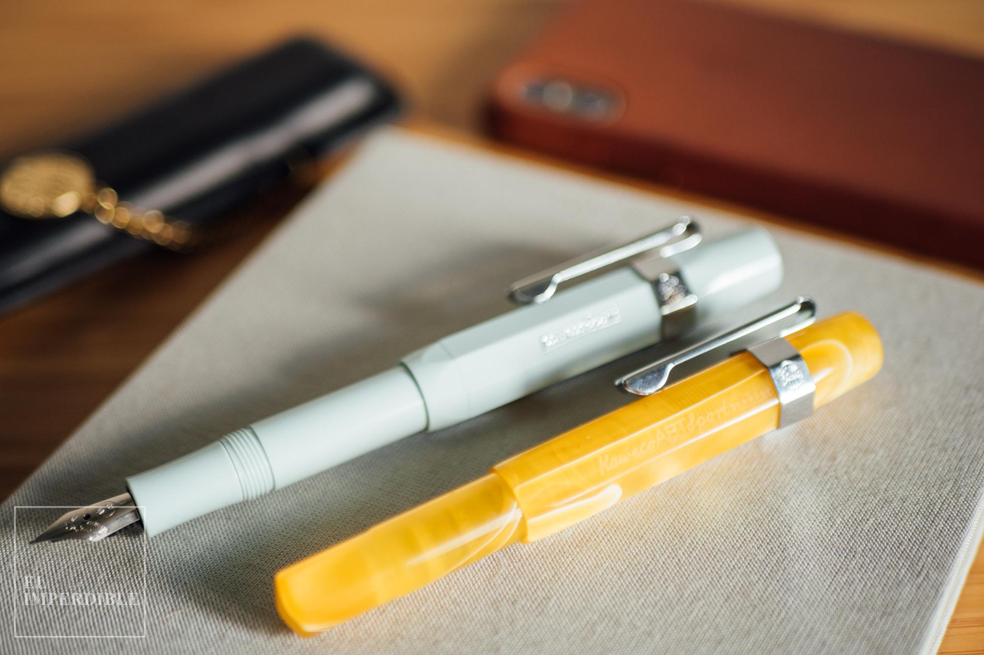 Las mejores plumas estilográficas qué pluma comprar Kaweco Sport ArtSport iPhone