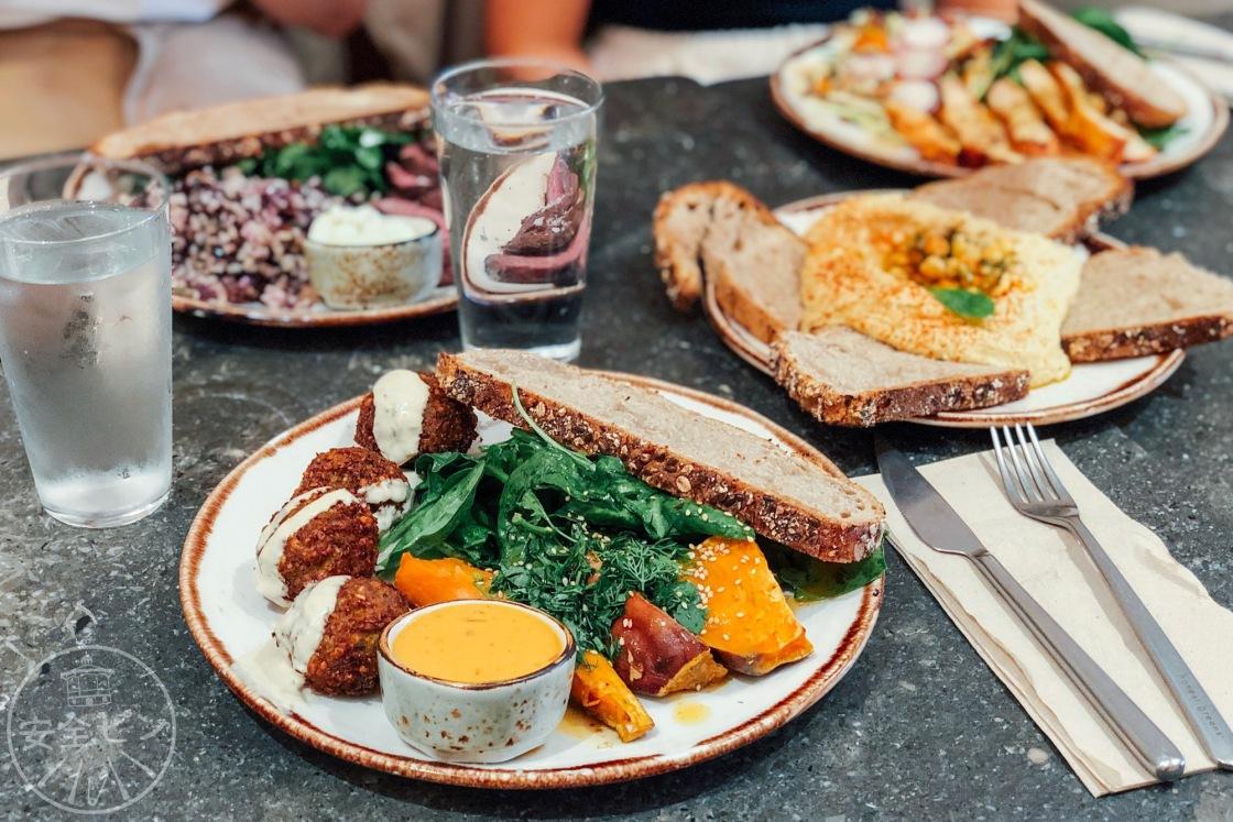 Honest greens comida rápida sana restaurante